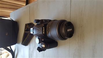 Nikon Digital D3000 Camera with extra lens