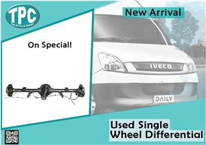 Iveco Daily Used Single Wheel Differential for sale at TPC