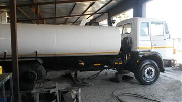 Toyota dolphin 18000L new tank water truck browser