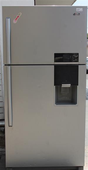 Lg 2 door fridge S031767A #Rosettenvillepawnshop