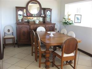 8 seater glass dining table for sale  Port Shepstone