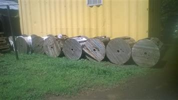 12 core aerial /duct fiber for sale. Single mode. 3000m drums