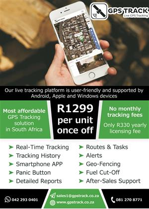 The Most Affordable GPS Tracking Solution in South Africa