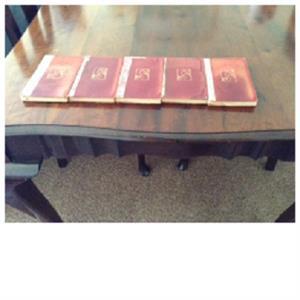 Dante The Divina Commedia & Canzoniere : In 5 volumes 1899