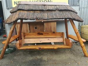 Garden Swing Furniture In Garden And Patio Furniture In