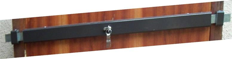 SECURITY BAR LOCK – SINGLE DOOR