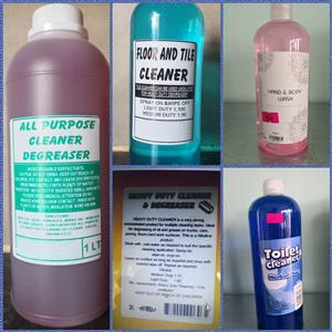 GOOD QUALITY CLEANING PRODUCTS AT BUDGET FRIENDLY PRICES