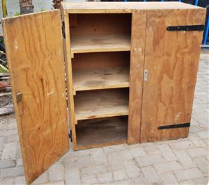 Tool Storage Cabinet Large Lockable Wall Mount 2nd
