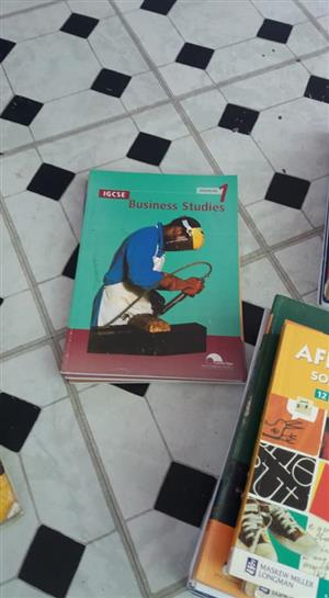 Business studies 1 book for sale