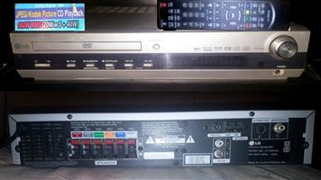 LG DVD player with 5.1 built in amplifier