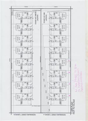2 x Sectional Title Stands for Sale - Polokwane (Duplex Townhouse Development) Plans pre-approved