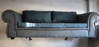 Blue USED 3-Piece Lounge Suite