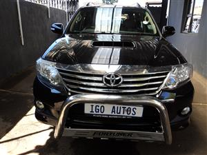 2012 Toyota Fortuner 3.0D 4D 4x4 Epic