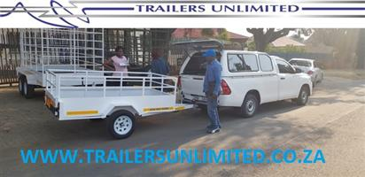 TRAILERS UNLIMITED UTILITY TRAILER. 2400 x 1200 x 700 BUDGET UTILITY TRAILER.