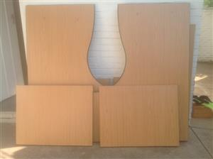 Matching Classique Cluster 1600 type desks - RHS & LHS.