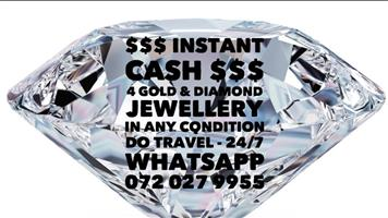 INSTANT CASH 4 GOLD JEWELLERY - ALL AREAS GAUTENG