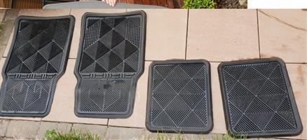 Escape Gear rubber mats for sale.
