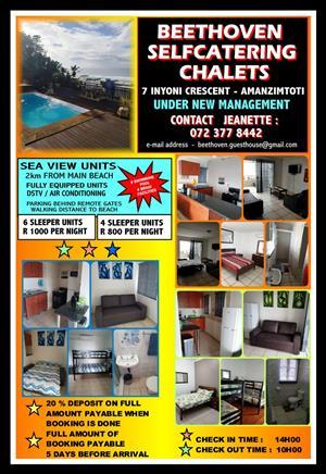 Holiday Accomodation in Amanzimtoti