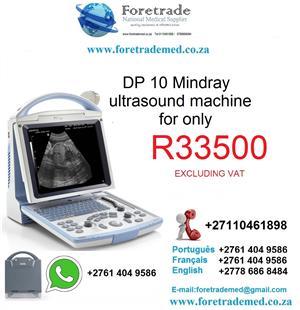 Brand new sonar machine DP 10 MINDRAY contact patrick on 0110461898