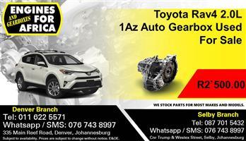 Toyota Rav4 2.0L 1Az Auto Gearbox Used For Sale.
