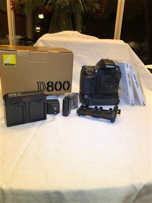 Nikon D800 D-SLR For Sale