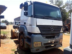 Mercedes 1835 Actros with hydraulics,Single axle truck