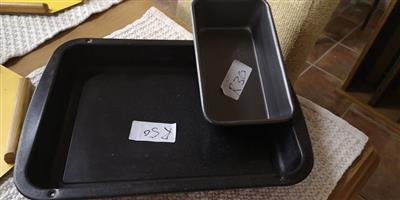 Black brad pan and oven pan