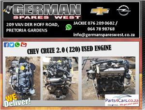 CHEV CRUZE 2.0 ( Z20 ) USED ENGINE FOR SALE