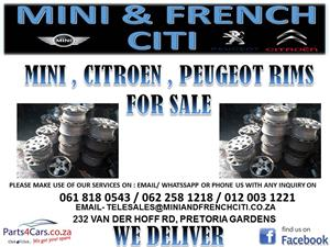 CITROEN , MINI , PEUGEOT RIMS FOR SALE