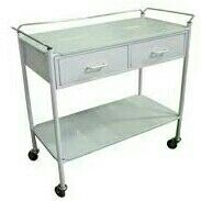 Hospital Anesthetic Two drawer Trolley