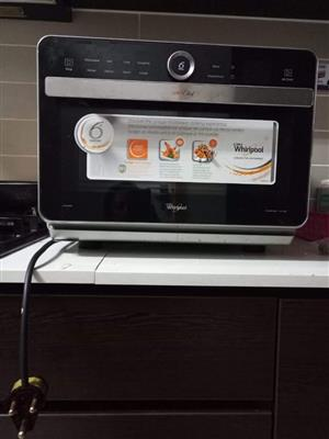 Slightly used microwave