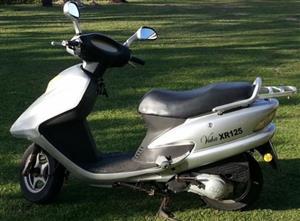 2011 Vuka Xs125 Scuta