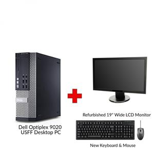 Refurbished Dell Optiplex 9020 USFF Core i5 Desktop PC