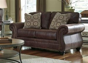 Handmade genuine full leather couches.