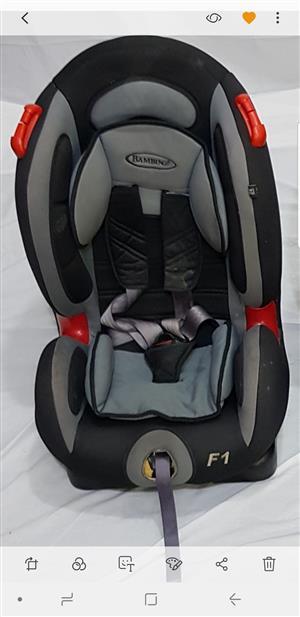 """Bambino """"F1"""" Safety Seat"""