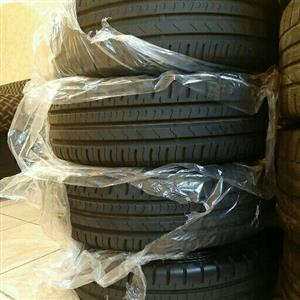 VW POLO 8 TSI OEM 15IN MAGS & TYRES 5X100