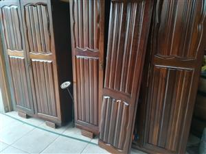 Antique Ambuia cupboards