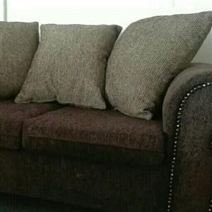 Brand new brown 3 21 couches to clear