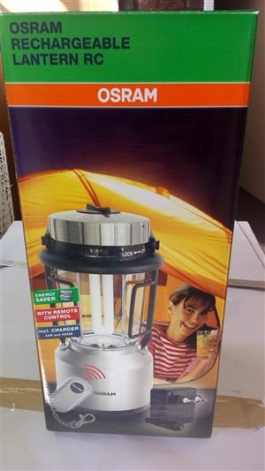 Osram Rechargeable Lantern With Remote Control