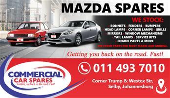 MAZDA CAR SPARES MOST MAKES AND MODELS