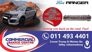 ford ranger T7 2016- grill with lights
