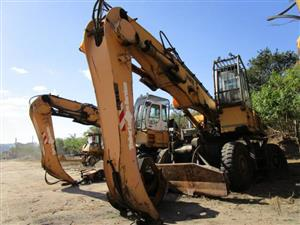 Liebherr A944 C-HD Litronic, Wheeled Excavator with Log Grab- ON AUCTION