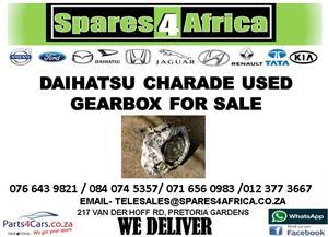 DAIHATSU CHARADE USED GEARBOX FOR SALE