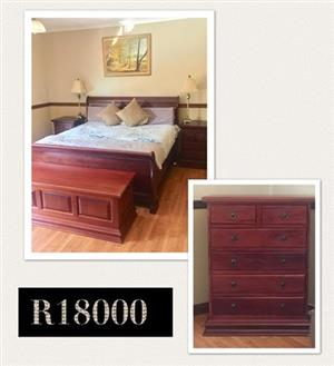 King size bedroom suite, kyst, draws