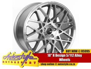 18 INCH R Design 5-112 Alloy Wheels
