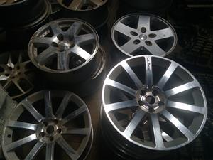 A variety of Jeep,Dodge and Chrysler rims available