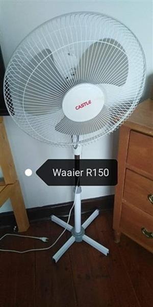 Castle fan for sale