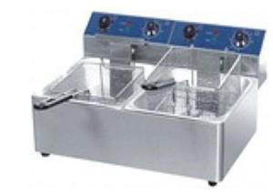 5Lt Double Electric Fryer new For Sale