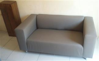 Modern & trendy 2 seater couch / sofa AS NEW!!! SEE PICS!