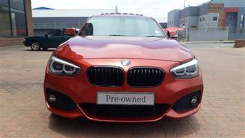2018 BMW 1 Series 120i 5 door M Sport auto